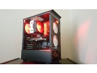 Computer & PC & Fresh built & AMD Eight-Core & R9 280 & SSD & Tempered Glass