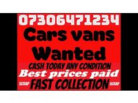 📞 SCRAP CAR VAN BIKE WANTED FAST CASH ANY CONDITION NON RUNNERS SELL MY TODAY