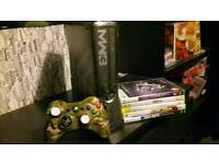 Xbox 360 320g comes 5 games