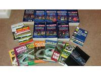 Sky Sports yearbook x 8 plus 11 stadium books