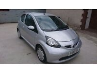 Bargain! Toyota Aygo 1.0 vvti, 3dr, Low 55k Mileage, Group 2 Insurance, Service History.
