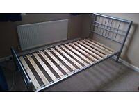 Steel Framed Single Bed