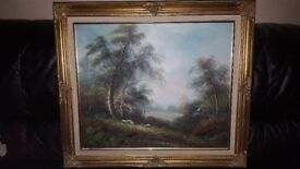 Oil painting by Gullen £50