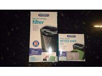 Brand new interpet internal filter + refill cartradges
