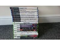 16 Game Bundle XBOX 360 + PS2 – BARGAIN