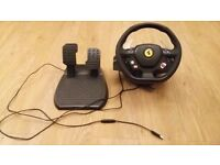 Xbox 360 - Thrustmaster 458 Steering wheel and pedals