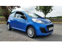 *!*LOW MILES*!* 2012 Peugeot 107 1.0 Access **FULL YEARS MOT** **FREE ROAD TAX** not C1 AYGO