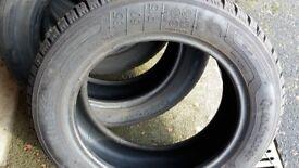 4 Kleber Quadraxer 185/60/R15 tyres