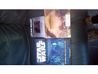 COLLECTION OF STAR WARS ITEMS BOXED SET DOUBLE SIDED POSTERS/SCANIMATION BOOK/EXPLORERS GUIDE
