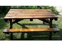 Picnic table 5ft long