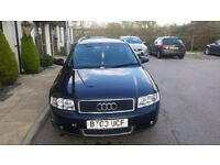 Audi A4 1.9tdi 2003 black avant,estate 130bhp