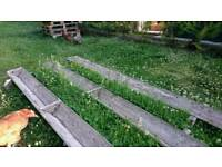 Garden planters / troughs