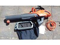 Flymo Scirocco 240V 3000W Electric Garden Leaf Blower/Vacuum