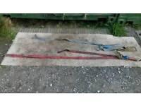Rachet straps x 2