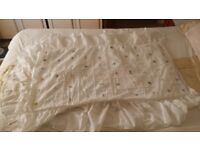 Hand embroidered Cot Duvet