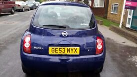AUTOMATIC NISSAN MICRA (SPARE AND REPAIR)