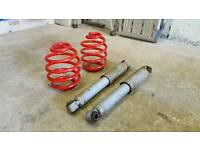 🔹️Vauxhall Corsa C / Combo rear lowering springs & shocks 🔹️