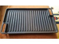 GRIDDLE PAN CAST IRON LARGE