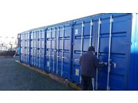 Secure 10 and 20ft self storage containers for rent. 24hr CCTV. £90 / £100 per month. £150 deposit