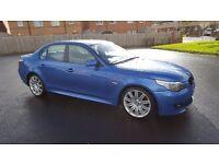 BMW 520d estoril blue
