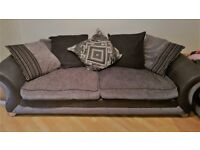 Used DFS Two seater sofa bed & Three seater sofa set Excellent condition /Pillows / Spring Mattress