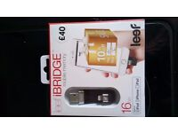 Leaf iBridge for iPhone Lighting USB Adapter
