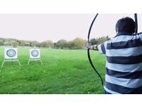Archery Taster Sessions and Beginners Courses Ayrshire Ideal Christmas Gift