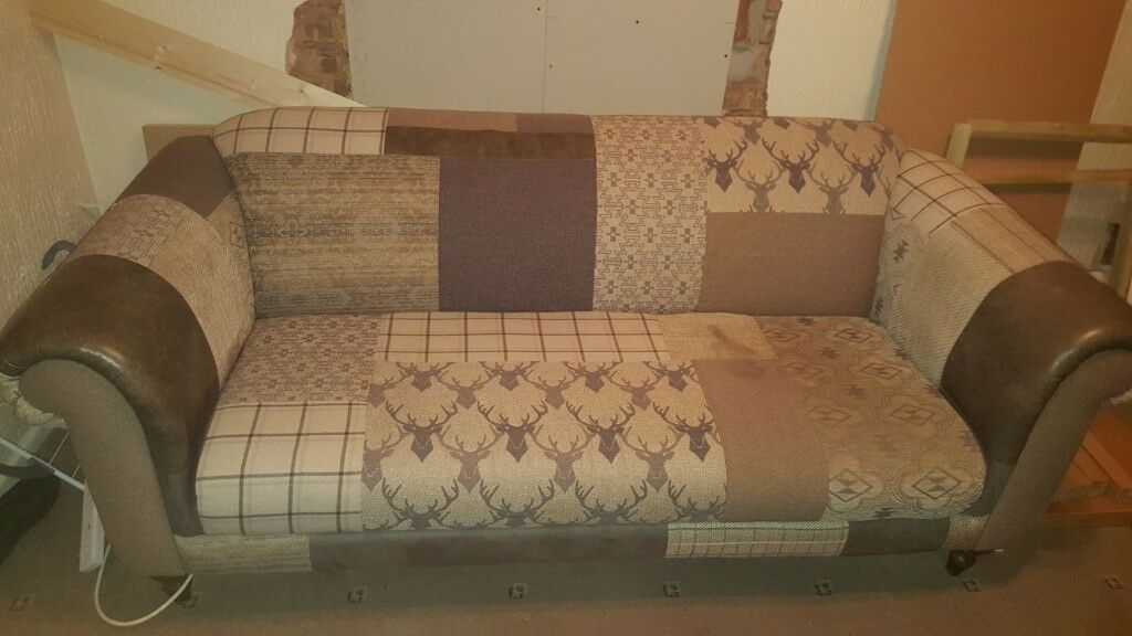 Dfs Patchwork 3 Seater Sofa
