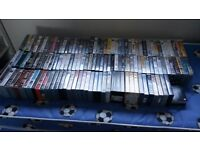 Job Lot of 130 VHS videos - Feature Films - from 70's, 80's and 90's
