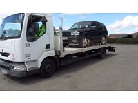 RECOVERY LORRY, 7 AND HALF TON, (SELL OR SWAP)