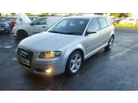 Audi a3 2.0 tdi 140 bhp nice clean car done140000 miles will come with full 12 month mot