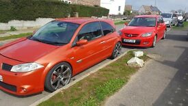Renault megane rs turbo 225(remap stage2)