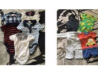 Bundle of boys clothes 0-3 & 3-6