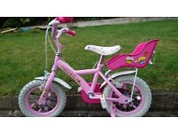 "Girls 12"" Apollo bike"