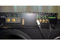 Fusion FP402 Amp & Bass Bin