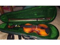 1/8 size antoni violin suitable for 4-6 year olds