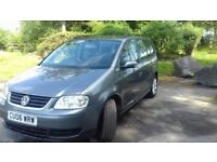 VW Touran 7 seater sorry to see it go good condition