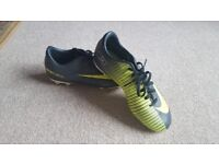 Nike football boots. Good condition size uk 2