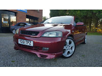 Amazing condition rare Astra Coupe with 12 months MOT, Full Irmscher body kit and un-marked alloys