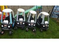 Little tikes cosy coupe police cars