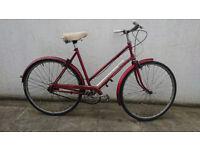 Wome's vintage Elswick Hopper Safeway town bike