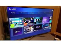 SAMSUNG 55 inch 4K Ultra HD HDR Smart LED TV-UE55KU6400,Freeview HD & Freesat HD,