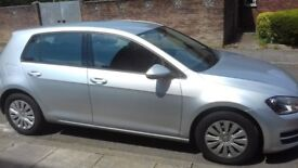Vw golf 1.6 tdi bluestone £0 ROAD TAX