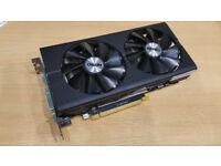 SAPPHIRE Radeon RX 480 Nitro 8GB GDDR5 PCI Express 3.0 Graphics Card - Black