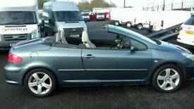 2007 Peugeot 307 Sports Coupe Convertible