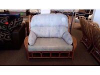 GREAT CONDITION! patio/garden or conservatory cane/wicker furniture set