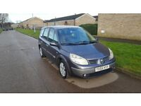 Renault GRAND SCENIC / 7 seter / 12 months M.O.T / 1.6 Petrol Family CAR !! QUICK SALE ONLY 550 !!!