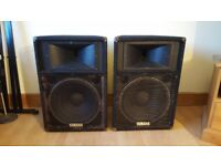 2 x YAMAHA PA SPEAKERS