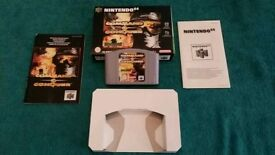 N64 COMMAND AND CONQUER BOXED AND COMPLETE!
