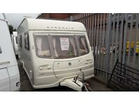 2005 AVONDALE DART 545/4 BERTH CARAVAN WITH MOTOR MOVER AND FULL AWNING AT CARAVAN SALES (LIVERPOOL)